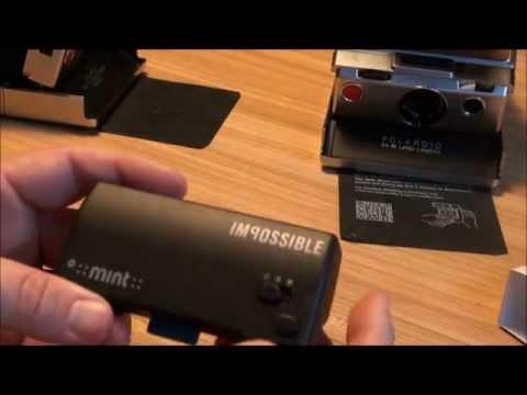 Mint Flash Bar for Polaroid SX-70