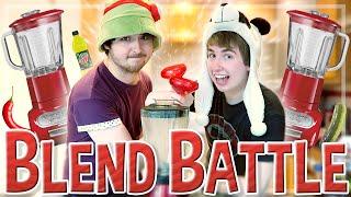Oli Vs. Joel | BLEND BATTLE Challenge w/ Smallishbeans!
