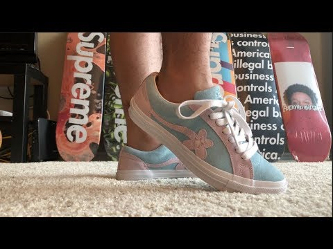 Golf Le Fleur Two Tone (Pink and Blue) Shoes Unboxing and On Feet