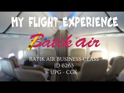 MY FLIGHT EXPERIENCE (FLIGHT REPORT) - E35 - BATIK AIR BUSINESS CLASS | UPG - CGK