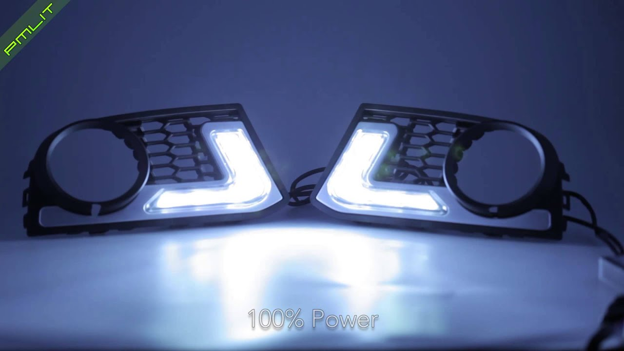 Pmlit Bmw 5 Series F10 M Tech Daytime Running Lights Led