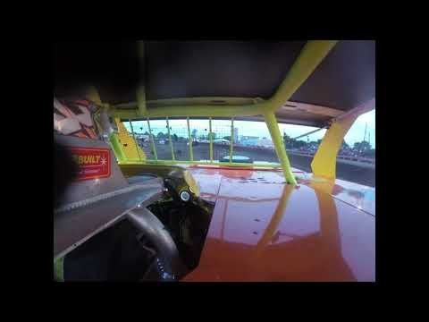 Brandon Hamburg's In-Car Heat Race @ Farmer City Raceway 6-28-2019