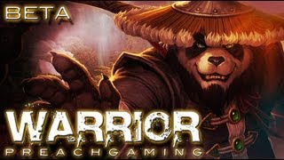 Arms Warrior Gameplay Mists of Pandaria Beta