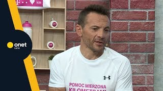 Rafał Wilk: codziennie wchodzę na 2. piętro. Traktuję to jako trening   #OnetRANO #WIEM