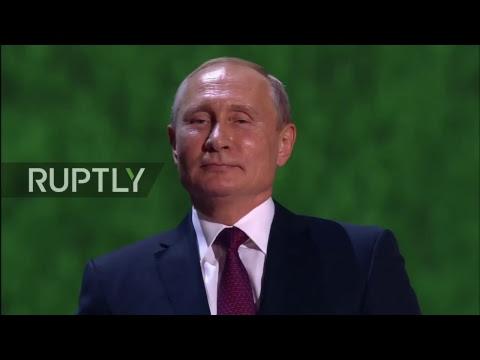 LIVE Putin attends World Cup Gala concert in Moscow