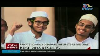 KCSE 2016 results: Private schools dominate top spots at the coast