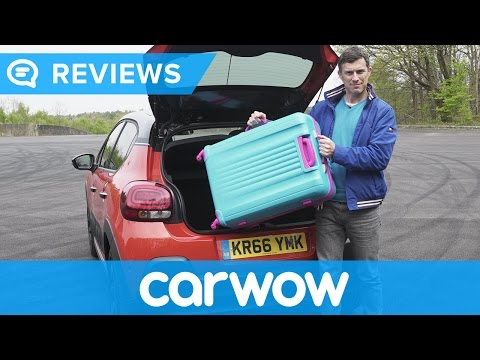 Citroen C3 2017 practicality review | Mat Watson Reviews