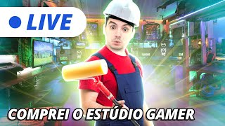 LIVE - COMPRANDO O ESTÚDIO GAMER NO HOUSE FLIPPER! [+10]