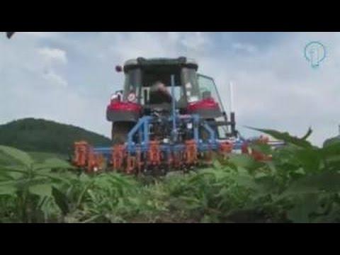 #Amazing smart farming equipment 2016, inter row planting machine new invention farming equipment #H