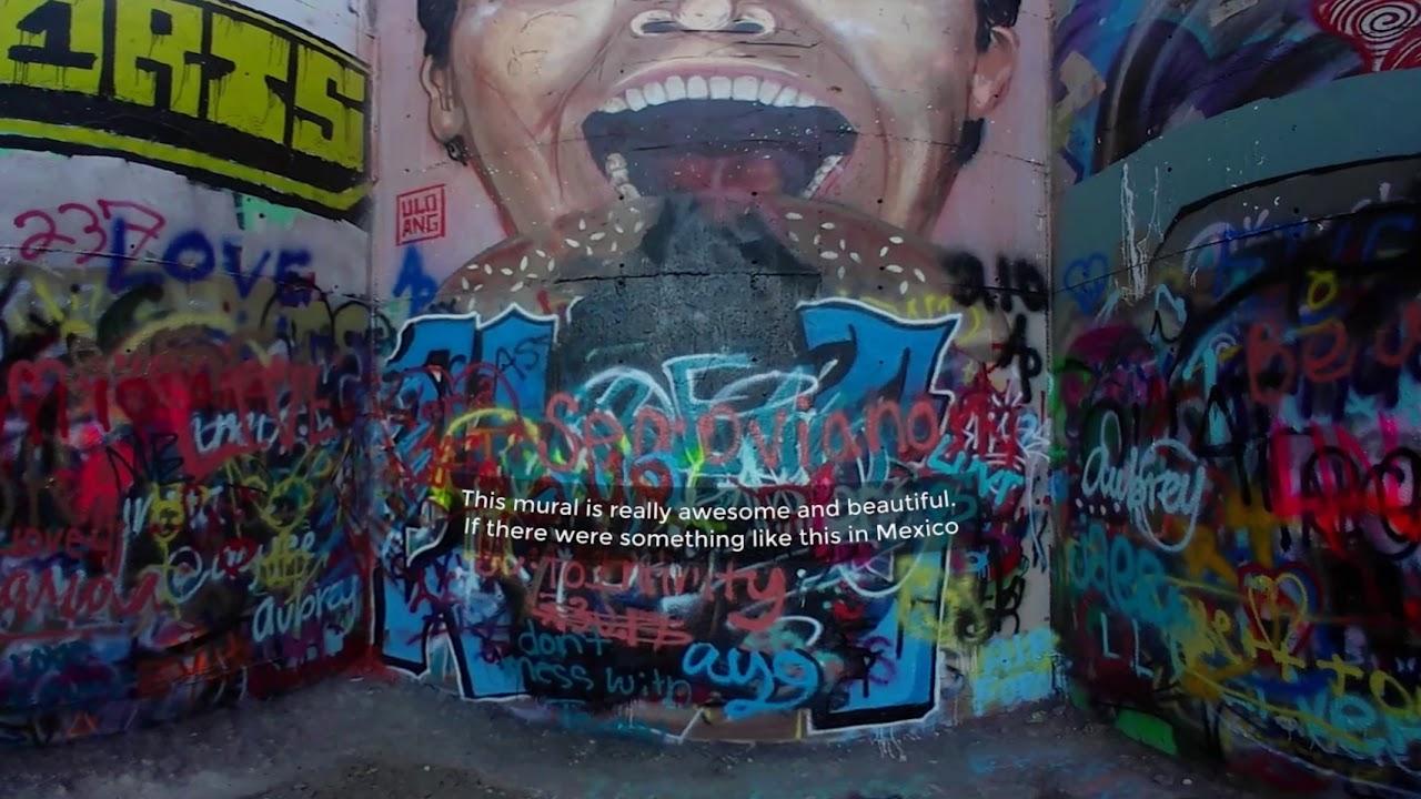 Hope Outdoor Gallery Graffiti Wall 360 Degree Video