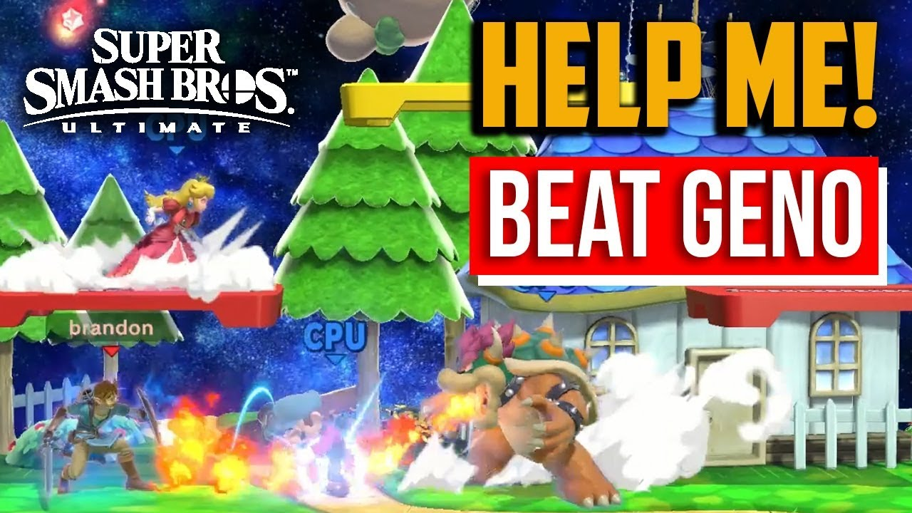Super Smash Bros Ultimate How To Beat Geno Spirit On Hard