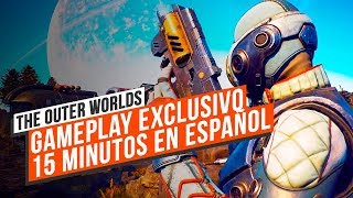 Gameplay EXCLUSIVO: jugamos a THE OUTER WORLDS en ESPAÑOL