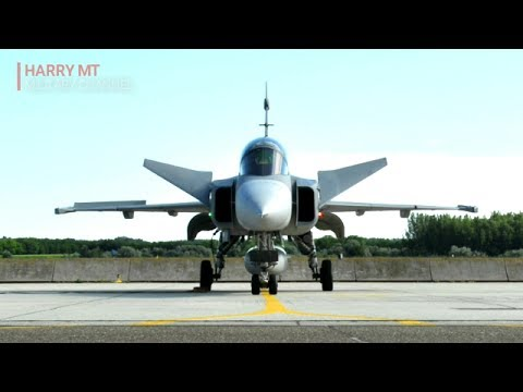 Hedendaags Powered By The Volvo RM12 - The Fighter Aircraft Saab JAS 39 KF-89