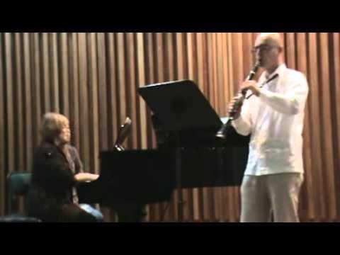 Poulenc clarinet sonata 3 Mov.Jairo A. Henao E