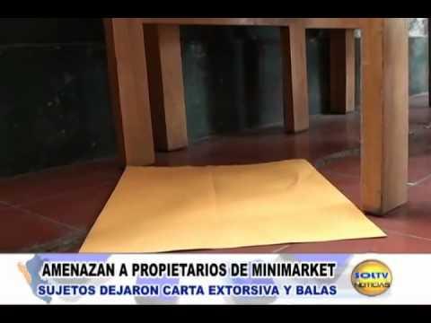 Serenazgo Victor Larco   Extorsion a bodega  Solt Tv Noticias