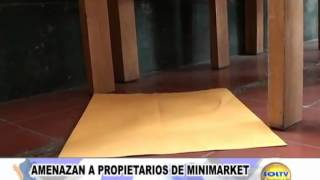 Serenazgo Victor Larco   Extorsion a bodega  Solt Tv Noticias
