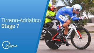 Tirreno-Adriatico 2018: Stage 7 Highlights