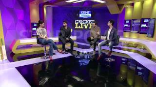 RJ Anmol with Deepika Padukone and Arjun Kapoor on Star Sports