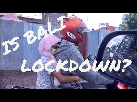 Is Bali Lockdown ?