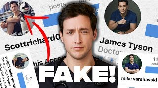 Doctor Reacting to FAKE Accounts & Catfish SCAMS
