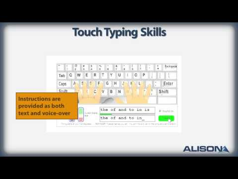 Touch Typing Skills Training