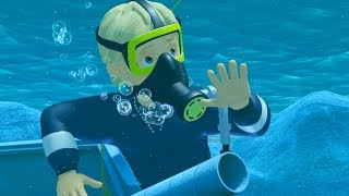 Fireman Sam New Episodes | Penny's underwater rescues | 1 Hour deep diving 🔥 Cartoon for Children