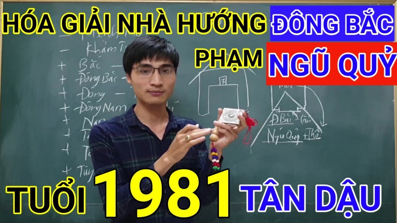 Tuổi Tân Dậu 1981 Nhà Hướng Đông Bắc | Hóa Giải Hướng Nhà Phạm Ngũ Quỷ Cho Tuoi Tan Dau 1981