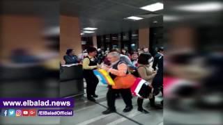 وصول أولى رحلات مصر للطيران من اليابان .. فيديو
