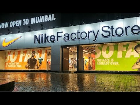Nike factory outlet mumbai I 30% off on any shoes