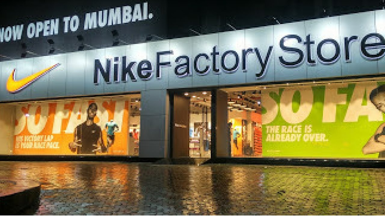 cce833b8443 Nike factory outlet mumbai I 30% off on any shoes - YouTube