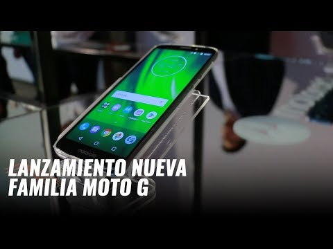 Moto G6, Moto G6 Play y Moto G6 Plus, presentación global en