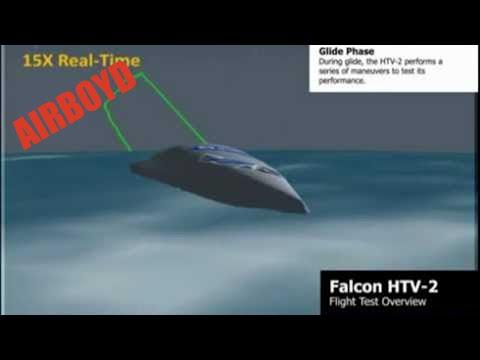DARPA's Falcon Hypersonic Technology Vehicle 2 (HTV 2) Test Flight Profile