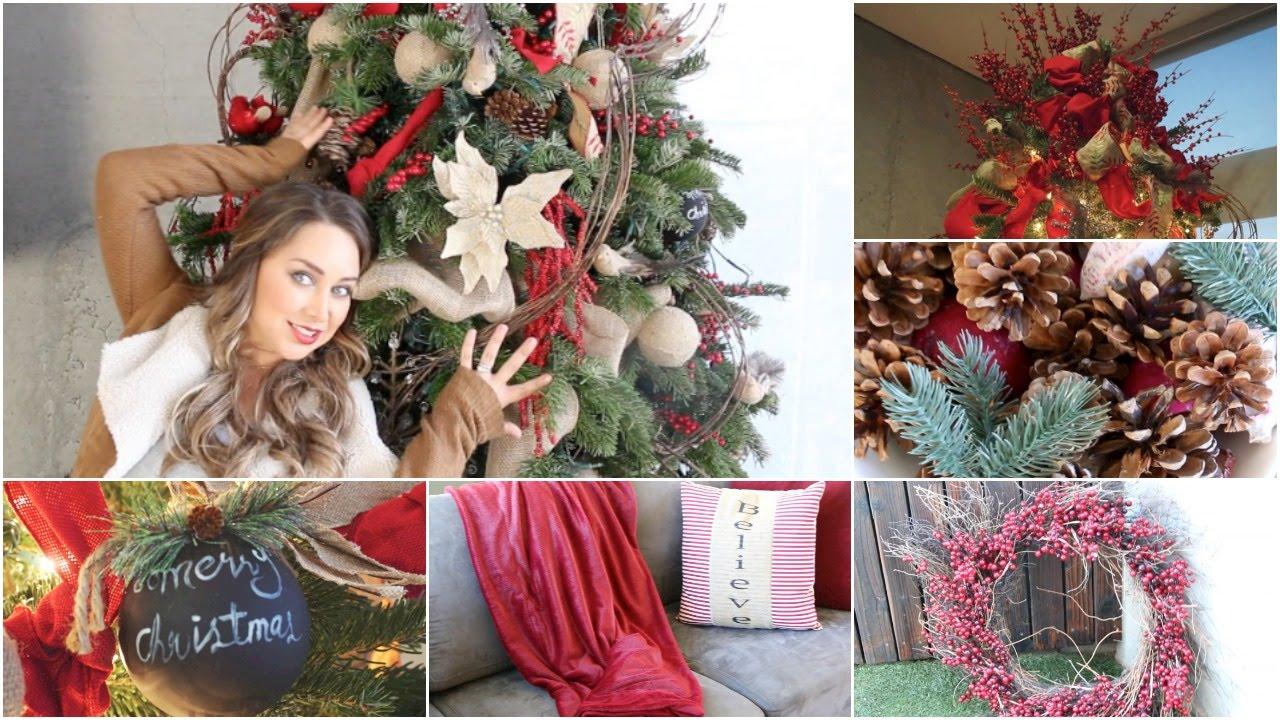 C mo decorar arbol de navidad paso a paso los mejores - Como adornar en navidad ...