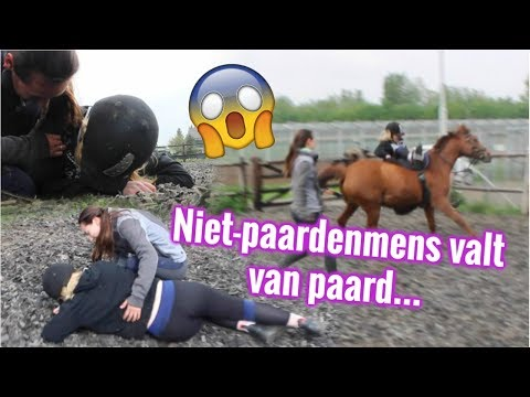Niet-paardenmensen rijden paard 2.0! | LeanneAbigail
