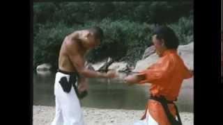 """""""Shaolin Drunken Monk"""" (1982)  Final Fight - Gordon Liu vs Eagle Han"""