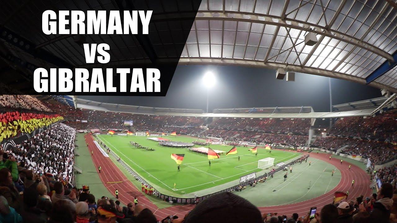 Deutschland Gegen Gibraltar 2017