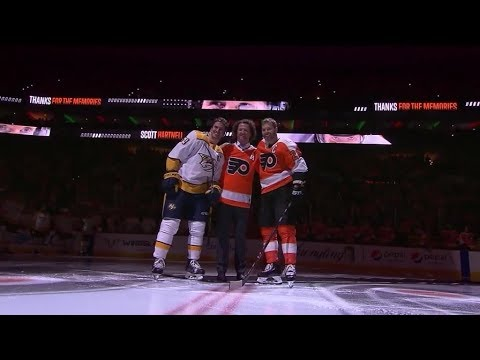 NHL Now:  Scott Hartnell on being honored in Philadelphia   Dec 21,  2018