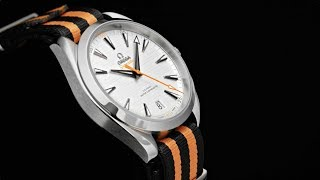 "The OMEGA Seamaster Aqua Terra ""Golf"" (in orange)"