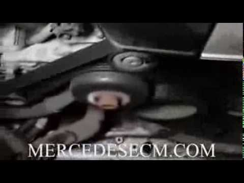Mercedes cooling fan problem  Fan runs on high speed due to bad ecm