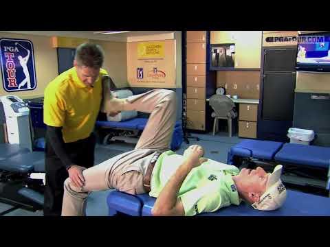 Inside a PGA Tour Fitness Trailer