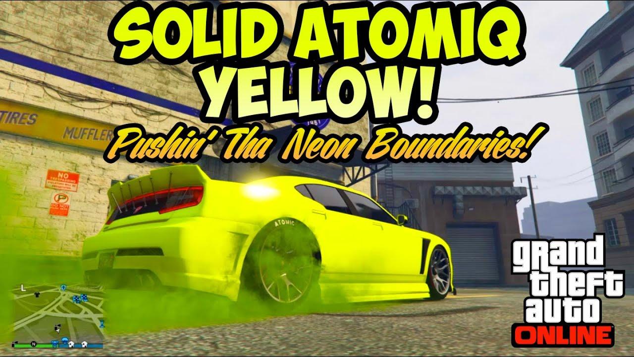 Tv Yellow Paint Close Car Color