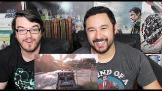 UNCHARTED 4: A Thief's End Gameplay Demo (Trailer)  - E3 2015 REACTION & REVIEW!!!