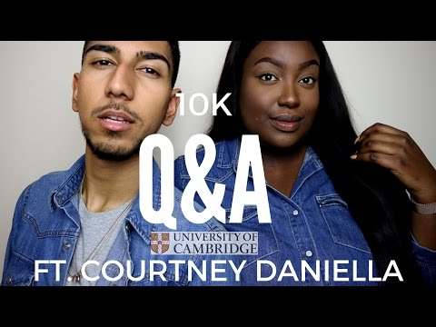 UNIVERSITY Q&A (Ft. Courtney Daniella) | Motivation, Regrets & Being a Person of Colour at Cambridge
