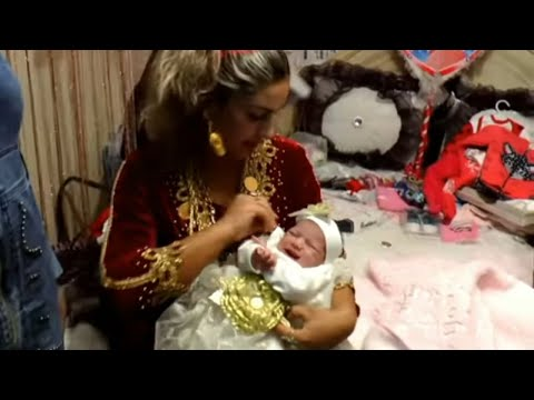 Celebrating the birth of a baby girl | Newborn Baby | Mom and baby tutorial videos: 323
