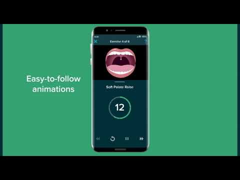 Reduce your snoring with SnoreGym - the snoring exercise app for quiet sleep