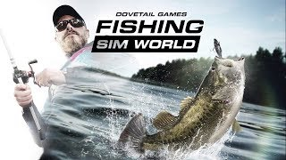 First Look at Dovetail Games Fishing Sim World! Stream Gameplay