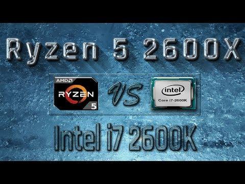 Ryzen 5 2600X vs i7 2600K Benchmarks | Gaming Tests Review & Comparison