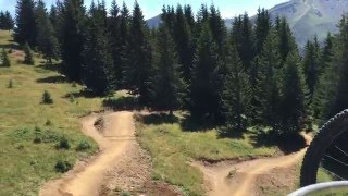 Mountain Biking the Super Morzine lift - French Alps