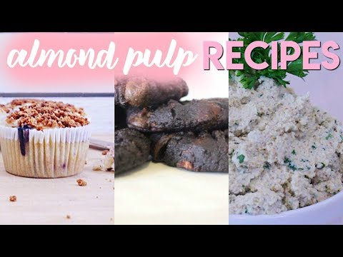 What to Make With Leftover Almond Pulp