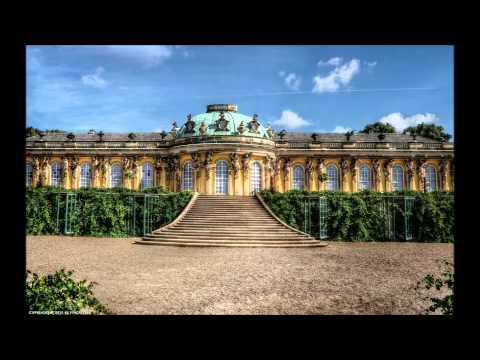 Palais Sanssouci à Postdam. Visite avec J.S.Bach.